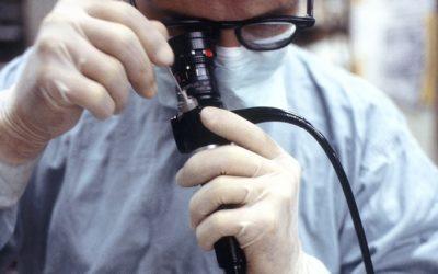 Lungenspiegelung